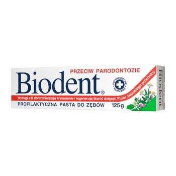 Biodent, pasta do zębów przeciw parodontozie, 125 g