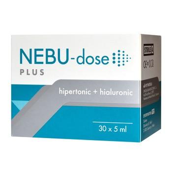 Nebu-Dose Plus, roztwór do inhalacji, 5 ml, 30 ampułek