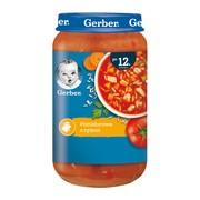 Gerber, zupa pomidorowa z ryżem, 12 m+, 250 g