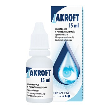 Lakroft, krople do oczu, 15 ml