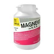 Magnevit plus B1, B2, B6, granulat, 100 g