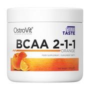 OstroVit BCAA 2-1-1, smak pomarańczowy, proszek, 200 g