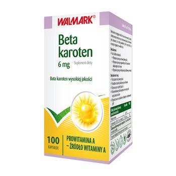 Beta Karoten, 6 mg, kapsułki, 100 szt.