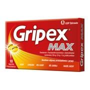 Gripex Max, tabletki powlekane, 10 szt.