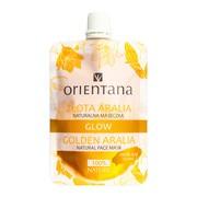 Orientana, naturalna maseczka Glow Złota Aralia, 30 ml