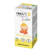 NeoVit C Junior, 100 mg/ml, krople doustne, 30 ml