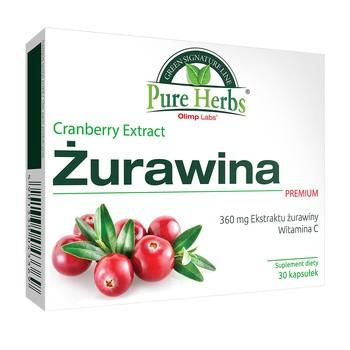 Olimp Żurawina Premium, kapsułki, 30 szt.