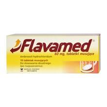 Flavamed, 60 mg, tabletki musujące, 10 szt.
