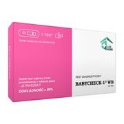 Babycheck-1 WB, test ciążowy z krwi, 1 szt.