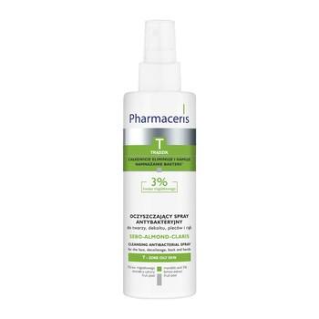 Pharmaceris T Sebo-Almond-Claris, oczyszczający spray antybakteryjny, 200 ml