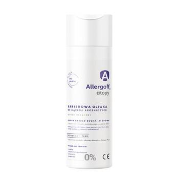Allergoff, barierowa oliwka do kąpieli leczniczych, 200 ml