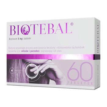 Biotebal, 5 mg, tabletki, 60 szt.