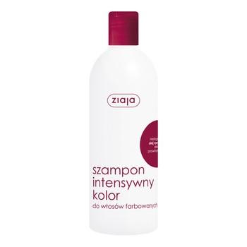 Ziaja, szampon, intensywny kolor, olej rycynowy, 400 ml