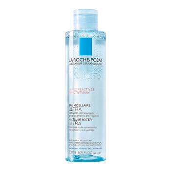 La Roche-Posay Eau Micellaire, woda micelarna Ultra, skóra reaktywna, 200 ml