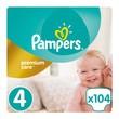 Pampers Premium Care 4, (8-14 kg), 104 szt.