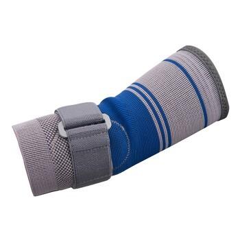 Qmed Elbow Safe, orteza stawu łokciowego, szaro-niebieska, 1 szt.