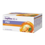 PKU Lophlex LQ, Orange, płyn, 3750 ml, 30 x 125 ml