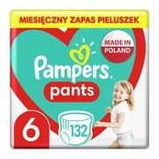 Pampers Pants 6 (15+ kg), pieluchomajtki jednorazowe, 132 szt.