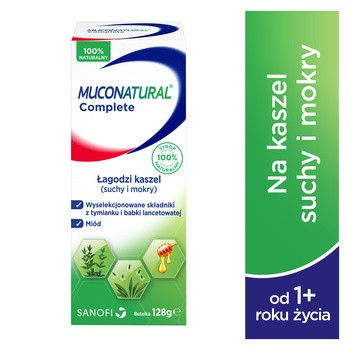 Muconatural Complete, syrop, 128 g