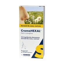 Cromohexal, aerozol do nosa, (20 mg / ml), 2 x 15 ml