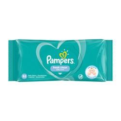 Pampers Fresh Clean, chusteczki nawilżane, 52 szt.