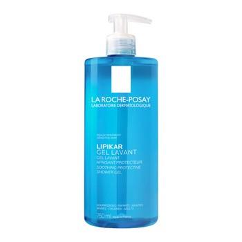 La Roche-Posay Lipikar, oczyszczający żel myjący do skóry wrażliwej, 750 ml