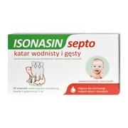 Isonasin Septo, roztwór do płukania nosa, 5 ml x 20 ampułek