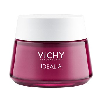 Vichy Idealia, energetyzujący krem wygładzający, skóra sucha, 50 ml