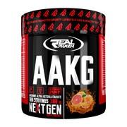 Real pharm AAKG, smak grejpfrutowy, proszek, 300 g