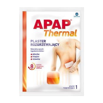 Apap Thermal, plaster rozgrzewający, 1 szt.