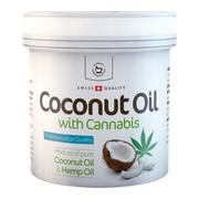 Herbamedicus, olej kokosowy z konopiami, 250 ml