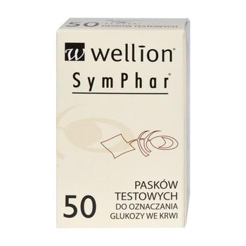 Test paskowy Wellion SymPharm, 50 pasków