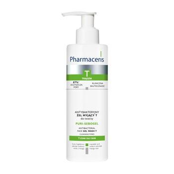 Pharmaceris T Puri-Sebogel, antybakteryjny żel myjący do twarzy, 190 ml