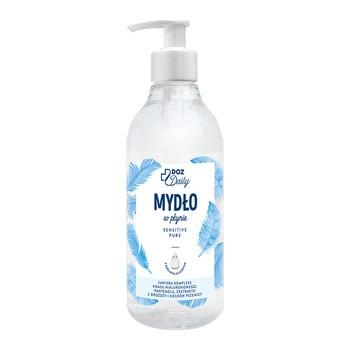 DOZ Daily Sensitive Pure, mydło w płynie z roślinną gliceryną, 400 ml