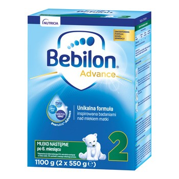 Zestaw 6x Bebilon + żel do mycia Mustela