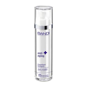 Bandi Medical Expert Anti-Aging, łagodzący kompres przeciw zmarszczkom, 4% pantenol + kwas hialuronowy, 50 ml