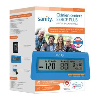 Ciśnieniomierz naramienny Serce Plus Sanity, model AP 1418, 1 szt.