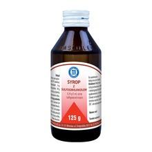Sirupus Sulfoguaiacoli, syrop, 125 g
