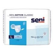Seni Active Classic, majtki chłonne, large, 10 szt.