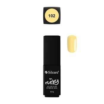 Silcare Flexy Hybrid Gel, lakier hybrydowy nr 102, 4,5g