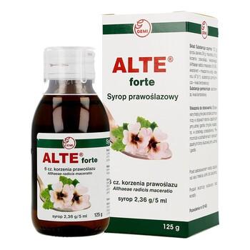 Syrop prawoślazowy Alte Forte 6 cz.korzenia prawoślazu, 125 g