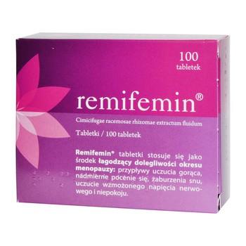 Remifemin, tabletki, 100 szt.