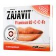 Zajavit, witamina B2 + C + E + Fe, tabletki powlekane, 30 szt.