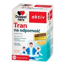 Doppelherz aktiv Tran na odporność, kapsułki, 120 szt.