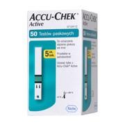 Test paskowy Accu-Chek Active, 50 pasków