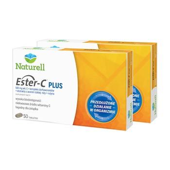 Zestaw 2x Naturell Ester-C Plus, tabletki, 50 szt.
