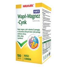 Wapń-Magnez-Cynk Forte, tabletki, 100 szt.