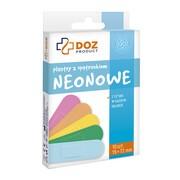 DOZ PRODUCT Plastry z opatrunkiem, neonowe, 19 x 72 mm, 10 szt.
