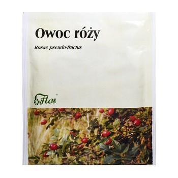 Owoc róży, zioła do zaparzania, 50 g (Flos)