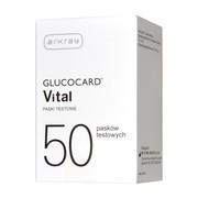 Test paskowy Glucocard Vital, 50 pasków